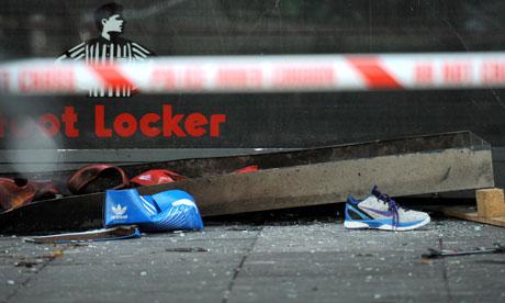 Footlocker London Riots