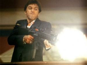 Tony Montana Say Hello To My Little Friend