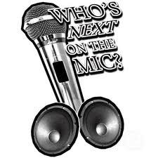 give us your feedback - microphone image
