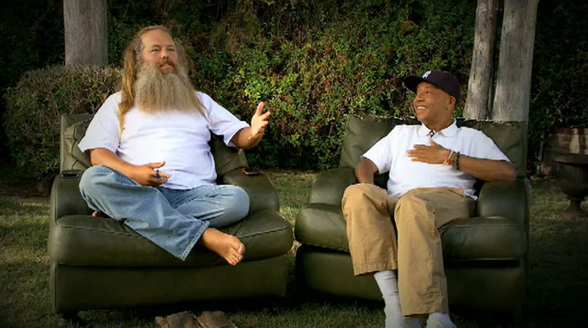 Russell Simmons and Rick Rubin