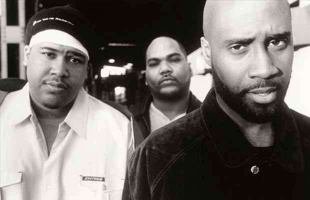 De La Soul Black and White Photo